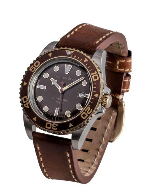 Carl von Zeyten NO. 30 0030BR zegarek sportowy , wodoszczelność 10ATM