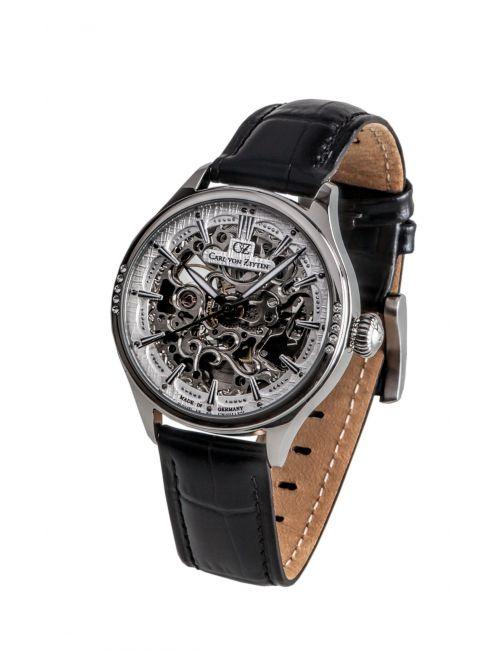 Carl von Zeyten WILDSEE 0057WH zegarek skeleton damski