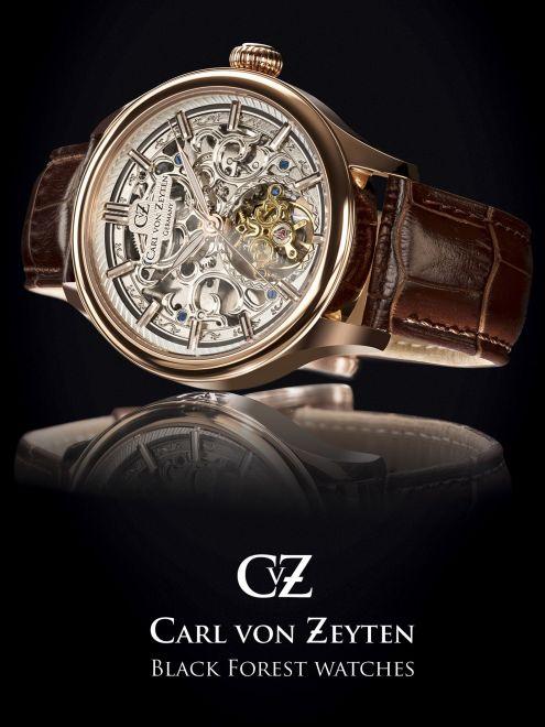Carl von Zeyten Saint Georgen 0014RSL skeleton męski